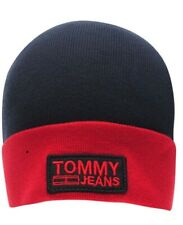Tommy Hilfiger Jeans Logo Beanie Hat Mens Ladies Adult BNWT