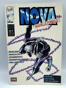 Livre Comics Bd Marvel super-héros nova  Décembre 1997 n° 228
