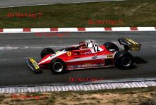 Gilles Villeneuve Ferrari 312 T3 German Grand Prix 1978 Photograph 3