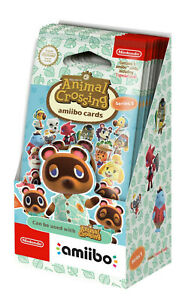 Animal Crossing amiibo Cards Series 5 (25 Pack 75 Cards Counter Display) NEW
