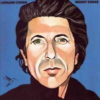 LP-LEONARD COHEN-RECENT SONGS -LP- NEW VINYL RECORD