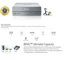 LG BE-14x Blu-ray Rewriter BD-RE/16x DVD±RW DL SuperSpeed USB 3.0 External Drive