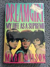 New listing Mary Wilson Signed Autographed Dreamgirl My Life As A Supreme 1986 1st Hc Book