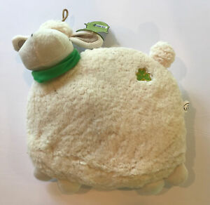 Daisy The Irish Sheep Pillow, 26cm in Height And Cream And White Color