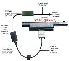External Laptop Battery Charger for Acer Aspire E1 V3 Series, AS10D31, AS10D75