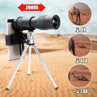 8X-24X ZOOM Teleskope Smartphones Objektiv Linse mit Stativ Set Für iPhone
