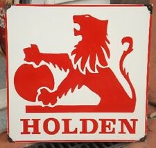 HOLDEN ENAMEL SIGN (MADE TO ORDER) #144