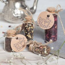 Bottle & Cork Tea Wedding Favour - Completely Unique