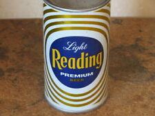 READING LIGHT PREMIUM BEER. REAL  BEAUTY.  INSIDE. FLAT TOP