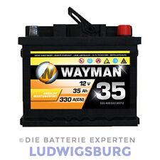 WAYMAN Autobatterie W35 12V 35AH 330A ersetzt 36AH 40AH 41AH 44AH