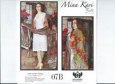 Shanzey Chicken Cotton Suit Embroidered Unstitched 07B Pakistani Indian 2018