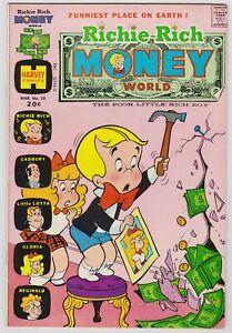 Richie Rich Money World #10 - Harvey File Copy Comic! Error Cove!  1974 VFNM