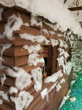Fake snow Indoor or outoor use, Fluffy christmas snow window display 250grams