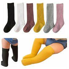 Knee High Socks - Toddler kids Baby Girls - Solid Color Socks