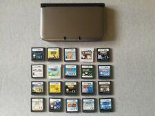 NINTENDO 3DS XL GREY CONSOLE & 20 GAMES BUNDLE