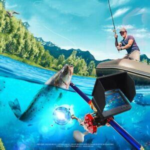 "Visual Fish Finder Underwater Fishing Camera Monitor 5""Display 9000 Metal Reel"