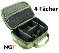 Bleitasche, Accessory Bag, Lead Bag mit 4 Fächer, Carryall NGT Zubehör Tasche