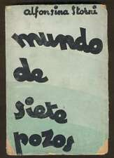 Alfonsina Storni Book Mundo De Siete Pozos 1ºEd 1935