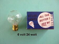 6 volt 24 watt SCC PROIETTORE LAMPADINA VINTAGE & Classic Cars Lucas 106 AUSTIN MORRIS