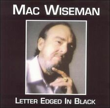 NEW Letter Edged in Black (Audio CD)