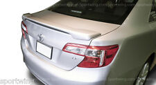 For: TOYOTA CAMRY ALL MODELS Painted Custom Style Spoiler Wing Trim 2012-2014