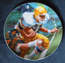 Moments Of Victory Football 1985 Avon Ray Cara Plate 7""