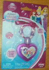 Disney Princess Enchanted Bubble Pendant *NIP* Ages 3+ Pink/Purple
