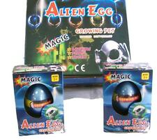 2 Hatch'Em Growing Alien Eggs toy grow science Magical egg novelty magic Ufo New