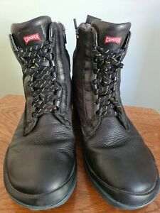 Camper Black Men's, gore-tex Boots Size 44, ( Size 9) Used . Leather finished
