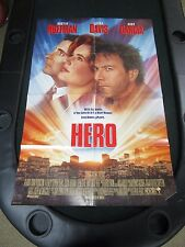 Vintage 1 sheet 27x41 Movie Poster Hero 1992 Dustin Hoffman Geena Davis