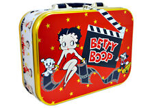 Betty Boop Lunchbox Purse Tote Metal Movie Themed New