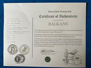 Roman Empress Otacilia Severa Antoninianus Coin NGC Certified XF