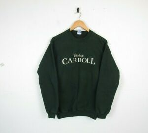 Vintage American College School University Graphic Roundneck Sweatshirt 90s S
