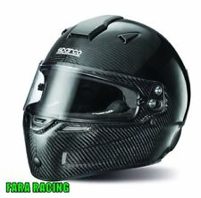 SPARCO 0033545XL CASCO KART AIR KF-7W CARBON Taglia XL (61) NERO