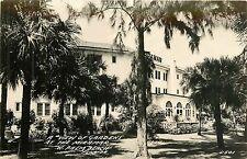 Florida, FL, West Palm Beach, Gardens Miramar Inn 1940's Real Photo Postcard
