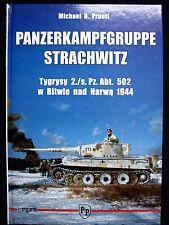 PANZERKAMPFGRUPPE STRACHWITZ BY MICHAEL H. PRUETT, MODEL HOBBY/TROJCE 2009