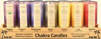 Aloha Bay Chakra Balancing Energy Jar Candles Scented with Essential Oils