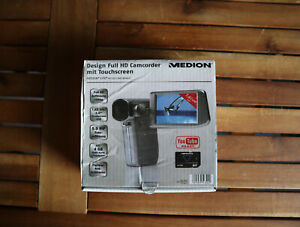 MEDION MD 86461 Full HD Camcorder mit Touchscreen Display NEU OVP