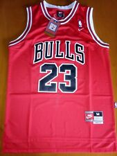 Canotta NBA Nike Chicago Bulls 23 Jordan Air Rossa Taglia XL