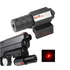 Tactical Red Laser Beam Dot Sight Scope Mount Gun Rifle Pistol Hunting 11mm/20mm