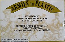 ARMIES IN PLASTIC #5608 1:32 WWI Lord Strathcona's HORSE ROYAL CANADIANS MIB