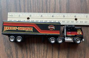 RARE 1981 Matchbox Harley Davidson Semi Tractor Trailer 1:64 Excellent condition