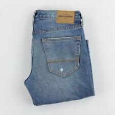 NEW Abercrombie & Fitch Jeans Kids Boot Cut Distressed Destroyed Size 16