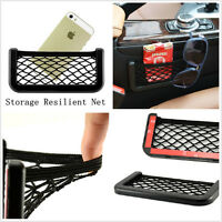 Lightweight Vehicle Interior Storage Resilient Net Bag Packet For Keys GPS Phone