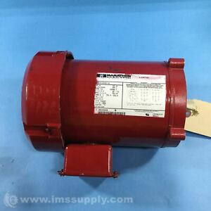 Marathon Electric 5K36PNB116A General Purpose Motor, 3/4 HP 5250