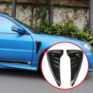 Car Body Front Bumper Splitter Fender Guard Wind Spoiler Universal Accessories