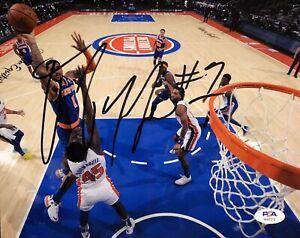 Obi Toppin Signed Autographed New York Knicks 8x10 Photo Psa/Dna