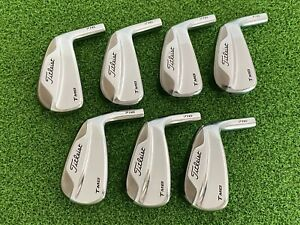 Titleist Golf T-MB 716 Iron Set 4-PW (HEADS ONLY) Right Handed Used Clubs