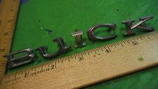 AC28 Buick Trunk Letter Emblems Vintage 1960-70s SKYLARK ELECTRA LeSABRE
