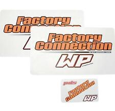 Factory Connection Fork/Shock Decal Set  WP Forks and Shocks FCWPDCLSET*